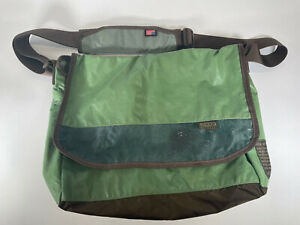 Keen Harvest Messenger Bag Purse Laptop Pouch Green Recycled Material