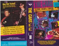 THE CARS 1984-85  VHS PAL VIDEO~ A RARE FIND