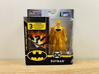 """DC 2020 The Caped Crusader Gold Batman 4"""" Superheroes Action Figure 1st Edition"""