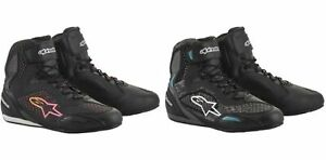 Alpinestars Women's Stella SMX Plus v2 Boots for Motorcycle Street Riding