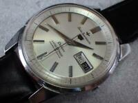 Vintage Seiko 5 Sportsmatic Deluxe 427990 Automatic 23Jewels Mens Watch