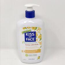 Kiss My Face Honey Calendula Deep Moisturizing Lotion Cruelty Free 16 oz. New