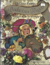 Bodacious Angels Decorative Tole Painting  Book by DeLane Lange