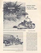 1952 Velocette 350 Motorcycle Brochure wk6438-MX3PXP