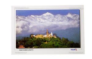 Postkarte Langtang Nepal Himalaya