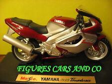 MOTO 1/18 YAMAHA  YZF 1000 THUNDERACE ROUGE/GRIS 1998  MAISTO