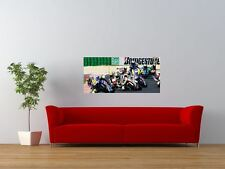 MOTORCYCLES BIKES MOTO GP RACE ACTION GIANT ART PRINT PANEL POSTER NOR0060