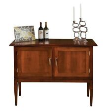 Amish Dining Buffet Server Sideboard Mid-Century Modern Solid Wood