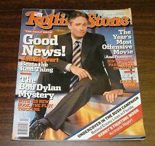 2004 Rolling Stone Magazine Jon Stewart, R.E.M, BUSH Campaign, Bob Dylan Mystery