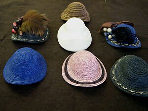 """NEW RESIN CL16 FRENCH FASHION HAT MOLD, FORM 12"""" DOLL HEAD 6 TO 6 1/2"""""""