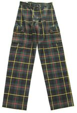 MAC MASTER SCOTLAND MENS PLAID PANTS COOL ROCK & ROLL PUNK 30/32