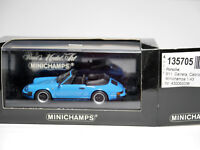 Porsche 911 Cabriolet 1983 G-Modell riviera blu Minichamps 430 062036 1:43 boxed