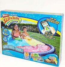 Wham-o Slip N Slide Wave Rider Double Backyard Water Slide Extra Long 18ft