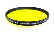 77mm Vivitar (Tiffen) VMC K2 YELLOW Contrast Filter - Multi Coated - NEW