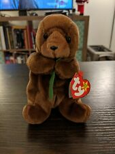 Seaweed Otter Beanie Baby 1996, Pe pellets, good condition, used