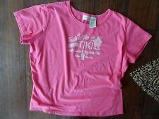 Ladies Blouses/Tops Sz X Large  Pink ~Cute blouse  <