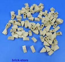 LEGO 1x2 Dachstein beige / 100 Pezzi