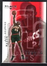 DESMOND MASON 2000/01 BLACK DIAMOND #118 RC ROOKIE SUPERSONICS SP #177/750