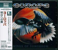 EUROPE WINGS OF TOMORROW CD - 2013 JAPAN RMST HIGH FIDELITY BLU-SPEC CD2 FORMAT