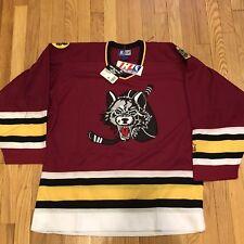 Vtg 1994 Chicago Wolves Starter IHL Jersey Medium NWT AHL Hockey Blackhawks