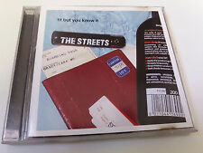 "THE STREETS ""FIT BUT YOU KNOW IT"" CD SINGLE 5 TRACKS"