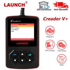 Launch CReader V+ OBDII Read Fault Delete Tester Scanner Car Diagnostic Tool