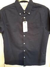 Mens blue oxford shirt By Racing Green Size M BNWT