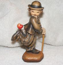 Vintage Collectible Anri Ferrandiz Italy Charlie Chaplin Carved Wood Figurine C9