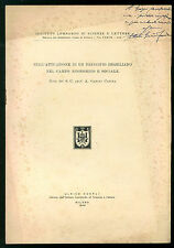 GARINO CANINA ATTUAZIONE DI UN PRINCIPIO HEGELIANO CAMPO ECONOMICO SOCIALE 1949