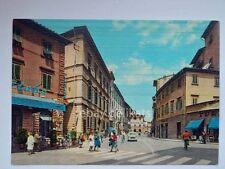 PISTOIA Via Buozzi vecchia cartolina bar