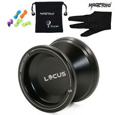 Magic YoYo ResponsIve V6 Locus Spase Alloy Metal Yo-Yo Ball Bearing Beginner Kid