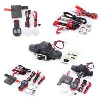 BW#A Double Motor Metal Winch Remote Control for 1/10 RC Crawler Car Axial SCX10
