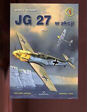 of- Air Miniatures # 1 - JG 27 , vol. 1 ( W/ DECALS) KAGERO,  SB, VG