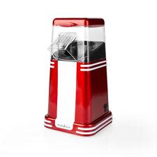 Retro Popcorn Maker Fat Free Hot Air Compact Popper Electric Machine 1200W