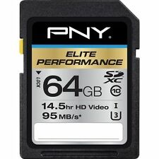 SDXC Camera Memory Cards with High Speed Universal