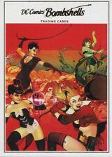 DC Comics Bombshells Copper Deco Base Card H13 Volume 1 Issue #17