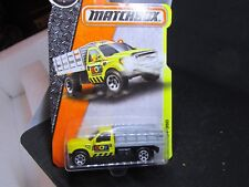 Matchbox FORD F350 Boy Construction new sealed on card