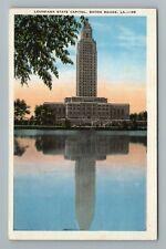 State Capitol Baton Rouge LA Louisiana Postcard