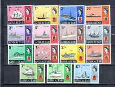 GIBRALTAR  DEFINITIVE SET  SHIPS AND BOATS    MNH