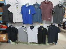 11 Adam Levine Men's Medium Golf Casual Button Collar Polo Top Shirt Clothing