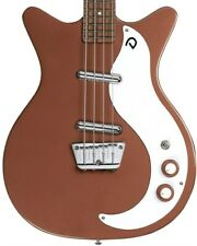 More details for danelectro 59dc short scale bass, copper