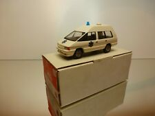MVI K37 RENAULT ESPACE SANICAR AMBULANCE - CREAM 1:43 - GOOD CONDITION IN BOX