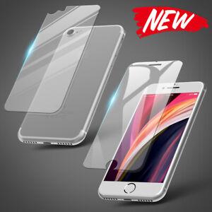 Panzerfolie für iPhone 7 / 8 / SE 2020 Schutzglas Vorder Rückseite Display Glas