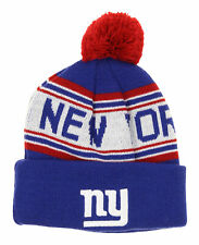Outerstuff Nfl New York Giants Toddler Cuffed Knit with Pom Hat Osfm