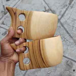 Jumbo Kuksa Scandinavian Teak Wood