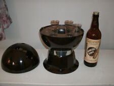 New listing Excellent - Mid-century Bakelite Bowling Ball Musical Bar Set by Evans