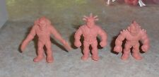 M.U.S.C.L.E. MEN 3 Figure Lot  - Group I-  Muscles Muscle pvc figures