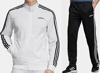 Adidas Sport Suite, jacket & pants matched set - White/Black/White- all sizes