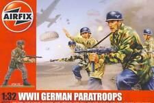 Airfix - 14 Soldaten German Paratroops Deutsche Fallschirmjäger Diorama 1:32 kit