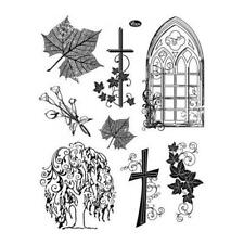 Viva Decor A5 Clear Silicone Stamps Set - Condolence #38